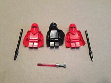LEGO lot  Darth Vadar 2 Royal Imperial Guards Star Wars Minifigure minifig J375