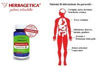 Vermi e parassiti intestinali 100% naturale PARASITES 12 DETOX FORTE 30 capsule
