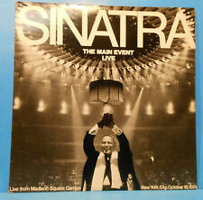 FRANK SINATRA THE MAIN EVENT LP '74 ORIGINAL PRESS GREAT CONDITION! VG++/VG++!!B