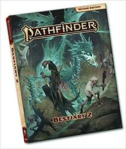 Pathfinder Bestiary 2 Second Edition Book Paperback Fantasy Rulebook DEALS