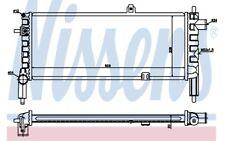 NISSENS Radiador, refrigeración del motor OPEL CORSA VAUXHALL NOVA 63287