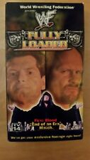 WWF FULLY LOADED 1999 VHS