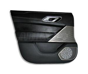 Range Rover Velar L560 LHD Front Left Side Interior Door Card Ebony+Charcoal Ash