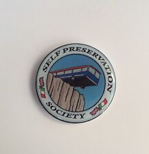 classic mini italian job self preservation society resin 3D sticker 80mm