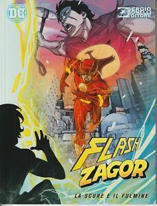 italian unique limited ed. THE FLASH & ZAGOR LA SCURE E IL FULMINE Dc Flash cove