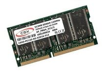 512mb di RAM SDRAM pc133 APPLE iBook g3 2,1 2,2 2000/2001 SODIMM ORIGINALE CSX