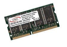 512mb di RAM SDRAM pc133 APPLE iBook g3 2,1 2,2 2000/2001 SODIMM ORIGINALE CSX