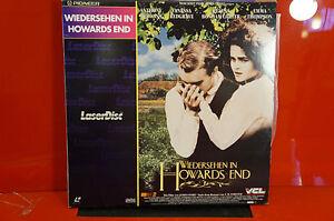 Wiedersehn in Howards End LD Laser Disc Laserdisc Pal Vintage  Bildplatte Film