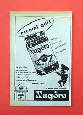 D210 - Advertising Pubblicità - 1953 - SUGORU ALTHEA PARMA