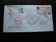 MADAGASCAR - enveloppe 12/9/73 - u.a.m.p.t. - yt n° 535 - (cy5)