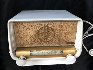 Rare poste radio D2923 transistor Tsf a lampes en Bakélite Ducretet Thomson