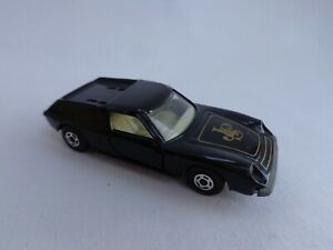 "Vintage Matchbox Lesney Superfast No5 Lotus Europa RARE BLACK ""JPS"" JAPAN Issue"