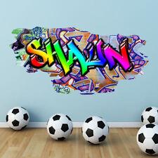 Décorations murales et stickers amovibles multicolores pour le bureau