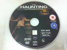 The Haunting In Connecticut DVD R2 PAL Horror Film - DISC ONLY in Plastic Sleeve