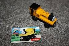Thomas the Train & Friends Tank Engine Wooden Duncan & Card Set RARE 2003 Toy