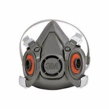 3M™ 6300 Reusable Light-Weight Half Face Mask Respirator Large Dark Grey NEW