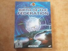 STAR TREK - BIRTH OF THE FEDERATION  PC WIN 95/98  DEUTSCH  NEU  Budget USK 0 #