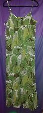 Apt 9  xlarge dress green maxi NEW reg 60.00