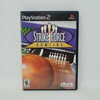 Strike Force Bowling (Sony PlayStation 2, 2004) No Manual Tested and Works