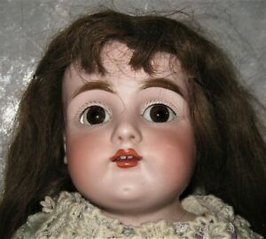 "1910 German 20"" KESTNER Doll w/ Shoulder Mold Head Dep. 154 & Kid Leather Body"