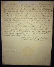 1903 Signed King LEOPOLD II OF BELGIUM Diplomatic Letter to Tomas Estrada Palma