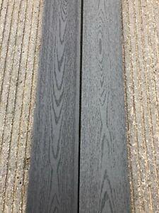 Composite Decking Boards 3.6m Grey, Teak, Black £20.50 Per Board