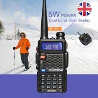 Baofeng F8+ Dual Band UHF/VHF 136-174/400-520MHz 5W Walkie Talkie Portable Radio