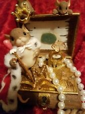 Fitz and Floyd Charming Tails You deserve the Royal Treatment music box treasure