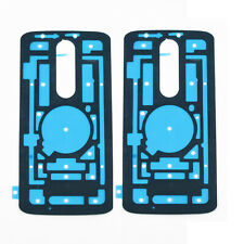 2 x Battery Back Cover Door Adhesive Sticker for Motorola Droid Turbo 2 XT1585