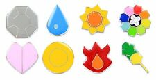 Pokemon Gym Badges: Gen 1 - Kanto League