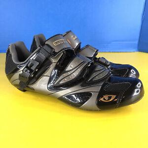 Giro Espada EC70 Carbon Composite women's bike shoes Black Titanium size 9 US