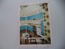 advertising Pubblicità 1973 CUCINE VIBOR - LUZZARA REGGIO EMILIA