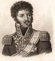 Général Montbrun Florensac Hérault Napoléon Bonaparte Premier Empire 1818