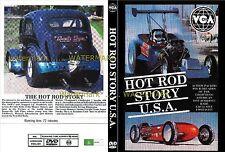 THE HOT ROD  STORY USA DVD  customs street rat hot rod