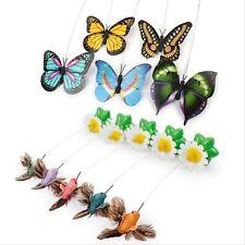 Katze Kitten Spielzeug elektrische rotierende Schmetterling Rod Cat Spielwaren