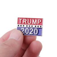 President Badge Trump 2020 Pin Republican Campaign Brooch Women Men Jewelry