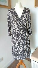 NOA NOA Jersey Wrap Around Dress -  Size L 14