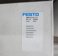 MFH-5/2-D-3-S-C MFH5/2D3SC 151033 FESTO solenoid valve NEW  #C03
