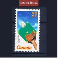 canada stamps 150th Anniv of Baseball in Canada Sg1307  1988 ... Mint ...
