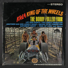 BOBBY FULLER FOUR: Krla King Of The Wheels LP (rare Stereo, partial shrink)
