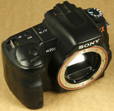 Sony DSLR-A200 Camera NOT WORKING