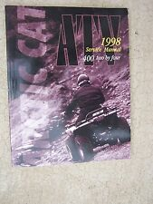 1998 Arctic Cat ATV 400 Two by Four 2x4 Service Manual Maintenance Off Road  T