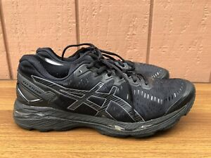 Asics Gel-Kayano 23 Men US 11 Black Running Shoes Sneakers T646N C8
