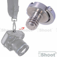 "1/4"" Folding Adapter Screw for Hanging Camera and Lens to Shoulder/Neck Strap"