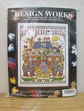 DESIGN WORKS COUNTED CROSS STITCH NOAHS ARK 9436