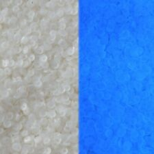 5mm Cup Sequins White Frost Blacklight UV Glow Made in USA