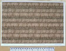 """Dolls house 1/12th scale """"Roof thatch - layered type""""  paper - A4 sheet"""