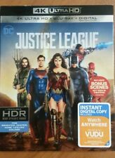 Justice League , 4K Ultra Hd + Blu-ray + Digital
