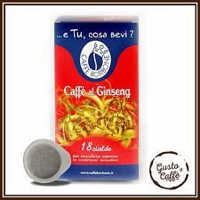 36 Cialde ESE 44 mm Caffè Borbone CAFFE AL GINSENG