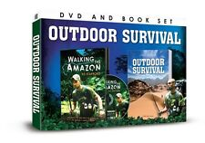WALKING THE AMAZON WITH ED STAFFORD DVD & OUTDOOR SURVIVAL LITTLE BOOK SET